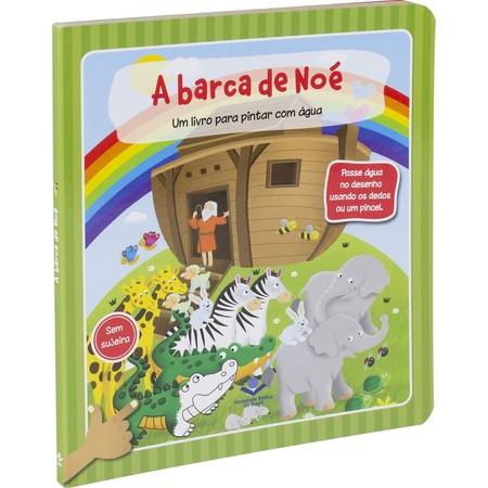 A Barca de Noé (livro infantil para pintar com água)