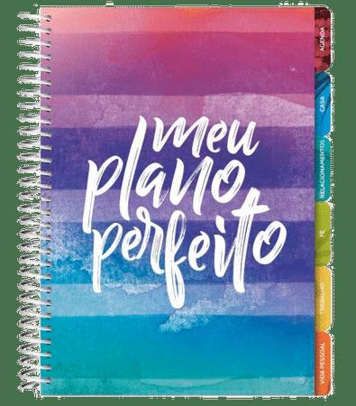 Meu Plano Perfeito - Planner Anual (Capa Listras)
