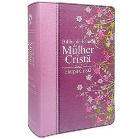 Bíblia de Estudo da Mulher Cristã (Luxo Rosa)
