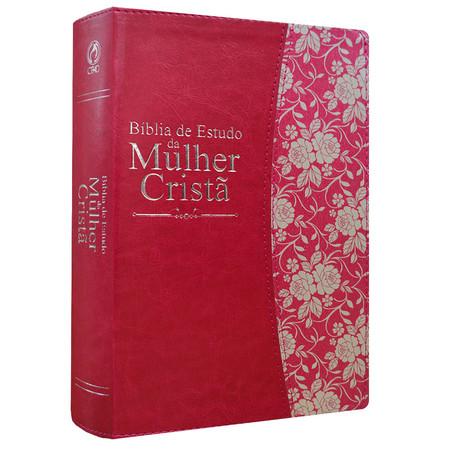 Bíblia de Estudo da Mulher Cristã (Magenta)