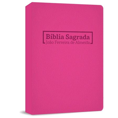 Bíblia Sagrada RC Grande - Capa Brochura Rosa