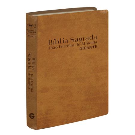Bíblia Sagrada RC - Letra Gigante (Semi-luxo Caramelo)
