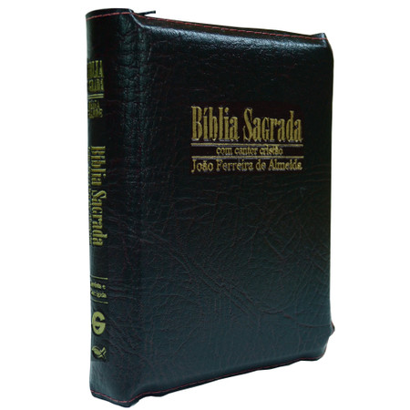 Bíblia Sagrada RC Média-Grande com Cantor Cristão (Preta)