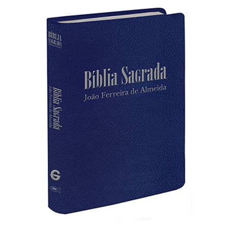 Bíblia de Bolso (Revista e Corrigida | Capa Azul)