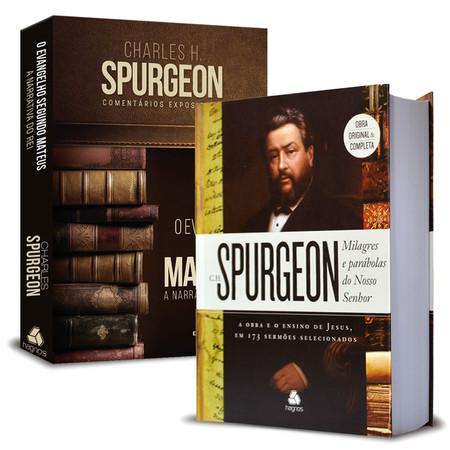 Combo 2 Grandes Obras de Charles Spurgeon