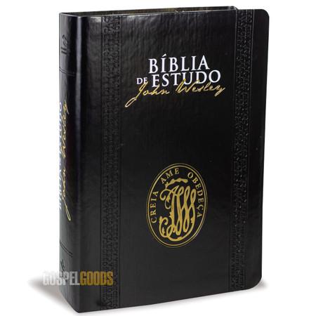 Bíblia de Estudo John Wesley (Luxo Preta)