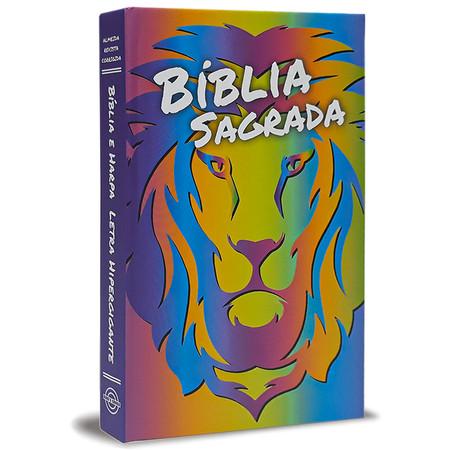 Bíblia Jovem Letra Gigante - Leão Color