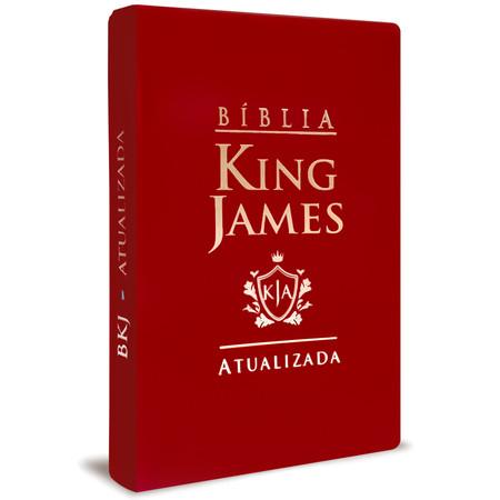 Bíblia King James - Atualizada (Luxo Vinho)