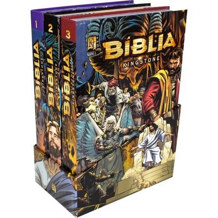 Bíblia Kingstone - Box com 3 volumes