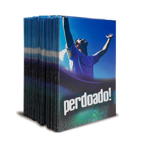 Pack - 300 folhetos Para Evangelismo - Perdoado