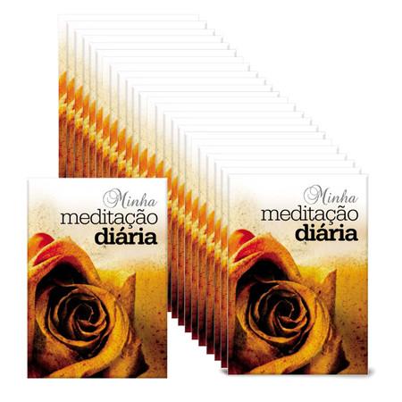 Pack - 200 folhetos Para Evangelismo - Minha meditação diária