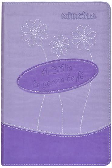 A Bíblia da Garota de Fé (roxa) - Nancy Rue