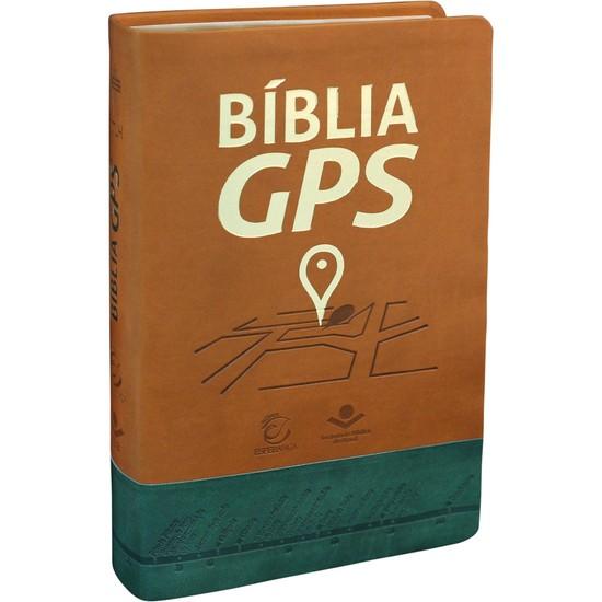 Bíblia GPS (Marrom e Verde)