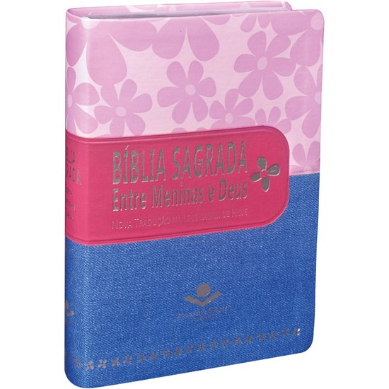 Bíblia Sagrada entre Meninas e Deus (Primavera, pink e jeans)
