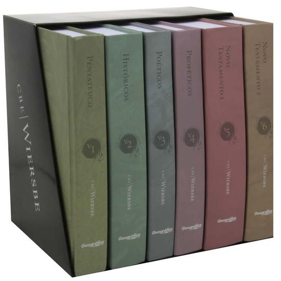 Box Comentário Bíblico Expositivo Wiersbe - 6 Volumes - Warren W. Wiersbe