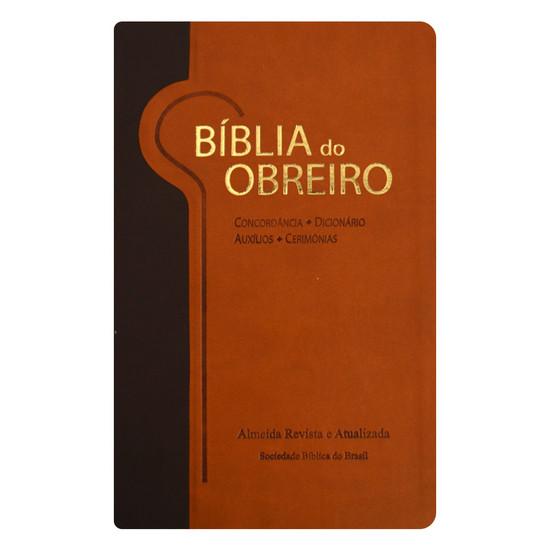 Bíblia do Obreiro  (Marrom Claro e Marrom Escuro)