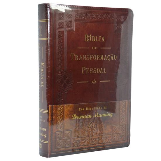 Bíblia de transformação pessoal (Luxo)