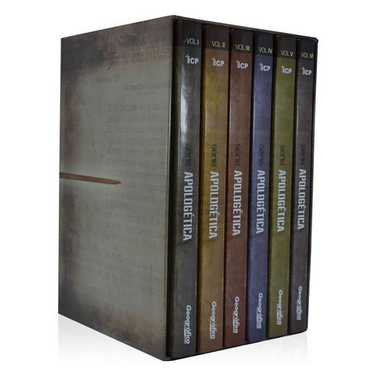 Box Série Apologética - 6 volumes