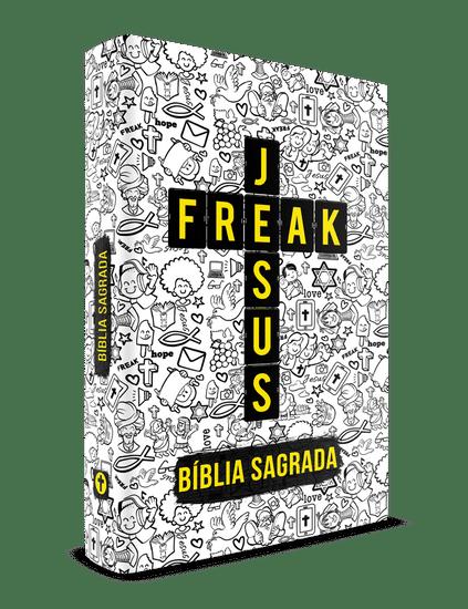 Bíblia Jesus Freak - Capa Dura Cartoon
