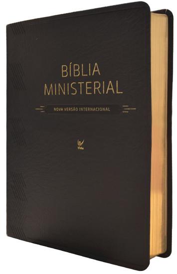Bíblia Ministerial - NVI (Preta)