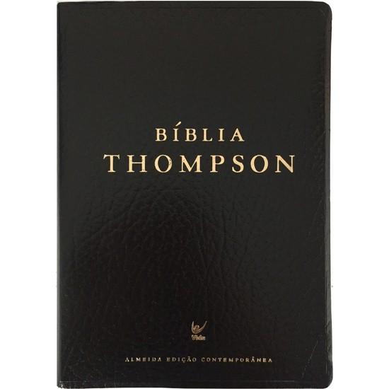 Bíblia Thompson (Capa Covertex Preta)