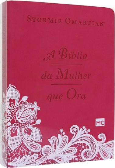 A Bíblia da Mulher que Ora (Rosa)