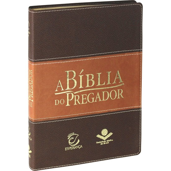 A Bíblia do Pregador (Grande | Marrom)