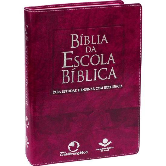 Bíblia da Escola Bíblica (Púrpura)