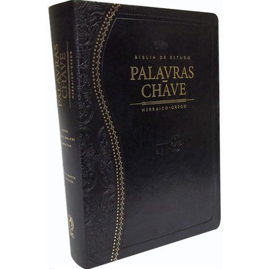 Bíblia de Estudo Palavras-Chave (Preta)