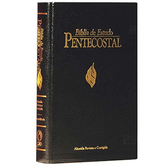 Bíblia de Estudo Pentecostal Grande (Preta)