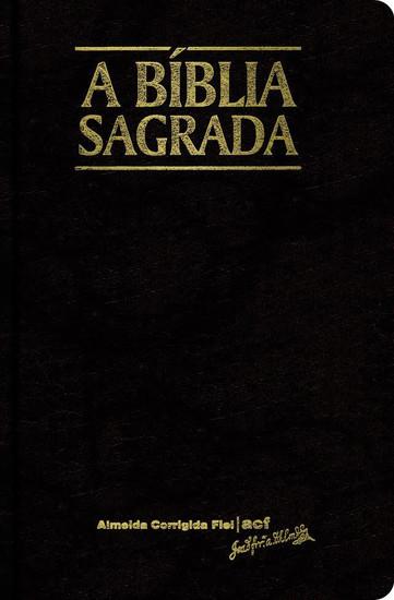 Bíblia Sagrada - Almeida Corrigida Fiel (Preta)