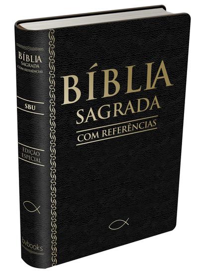 Bíblia Sagrada Com Referências - SBU (Preta)