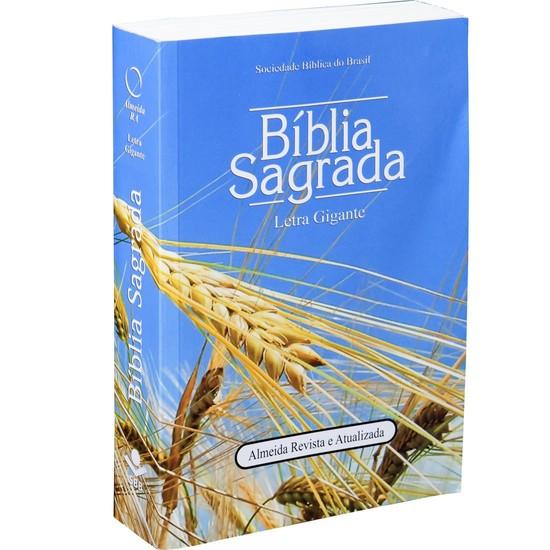 Bíblia Sagrada Letra Gigante - Trigo