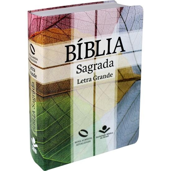 Bíblia Sagrada - NA (Capa Cruz)