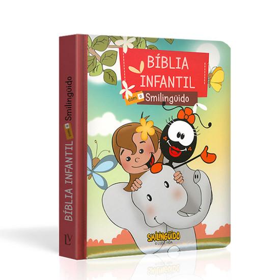 Bíblia Infantil com o Smilinguido (Capa Faniquita)