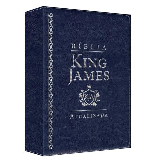 Bíblia de Estudo King James Atualizada - KJA (Azul)