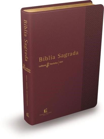 Bíblia NVI Leitura Perfeita - Capa Vermelha