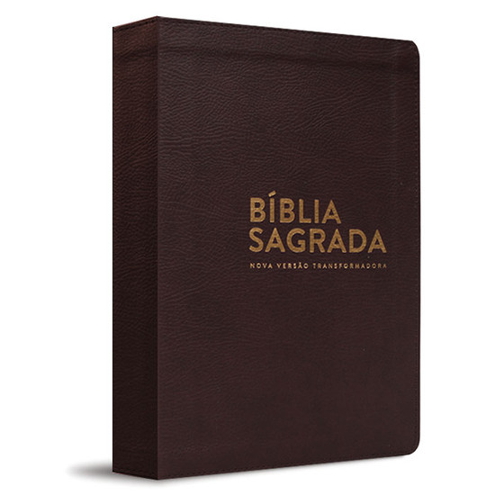 Bíblia NVT - Luxo - Marrom
