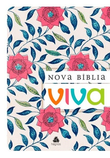 Nova Bíblia Viva (Floral)