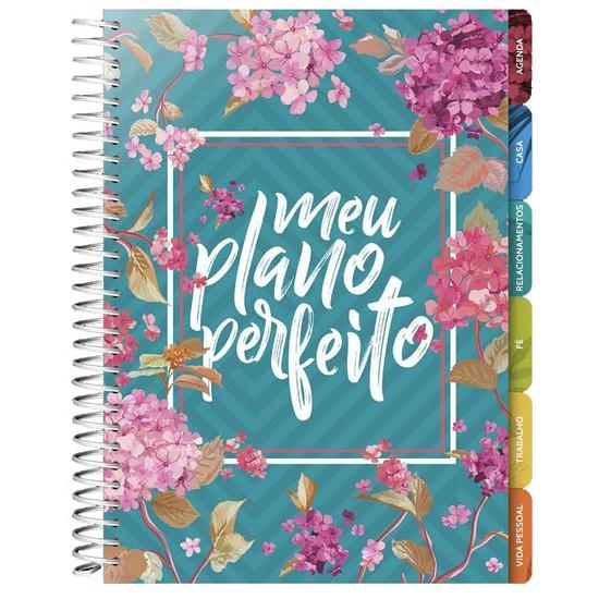 Meu Plano Perfeito - Planner Anual (Capa Flores)
