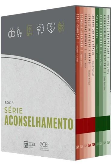 Série Aconselhamento - Box 3 (19 ao 27)
