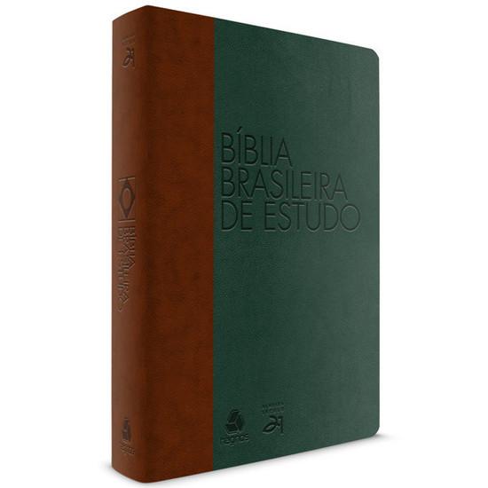 Bíblia Brasileira de Estudo (Verde e Marrom)