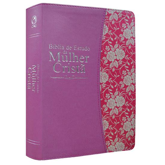Bíblia de Estudo da Mulher Cristã (Rosa)