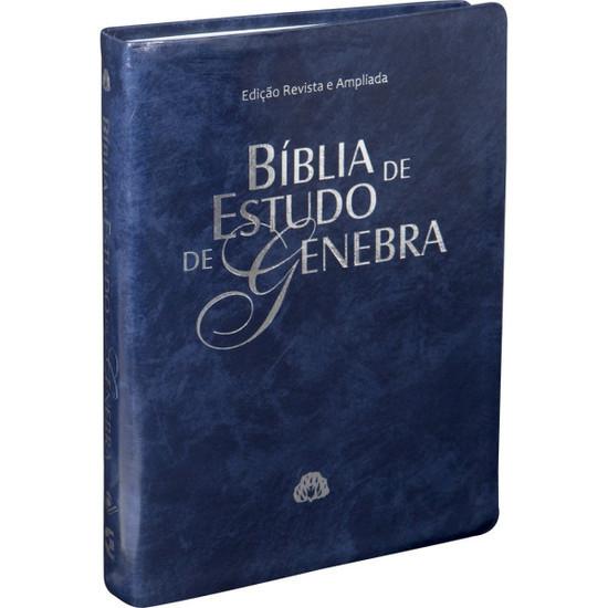 Bíblia de Estudo de Genebra (Azul)