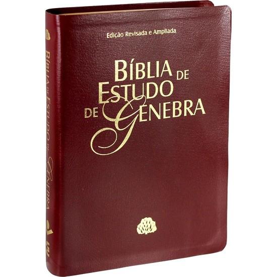 Bíblia de Estudo de Genebra (Vinho)