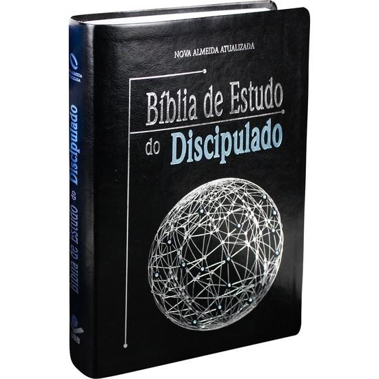 Bíblia de Estudo do Discipulado (Luxo Preta)
