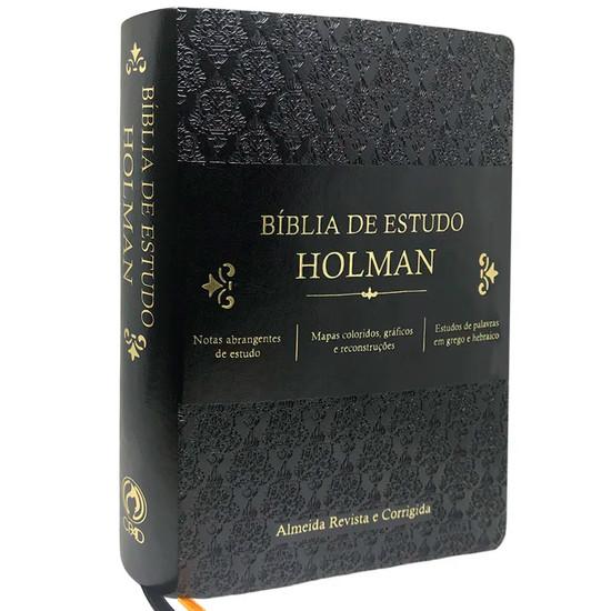 Bíblia de Estudo Holman (Preta)