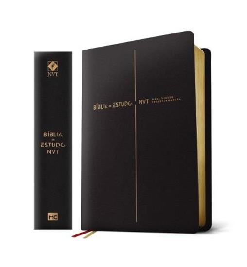 Bíblia de Estudo Nova Versão Transformadora (Luxo Preta)