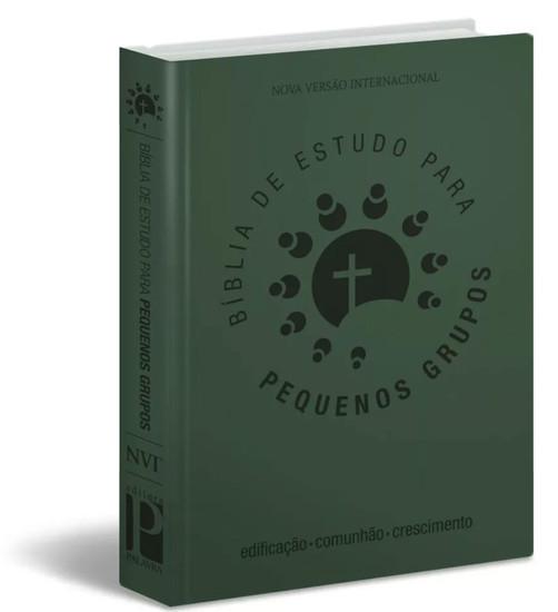 Bíblia de Estudo para Pequenos Grupos - NVI (Verde)