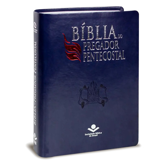 Bíblia do Pregador Pentecostal - NAA (Azul Nobre)